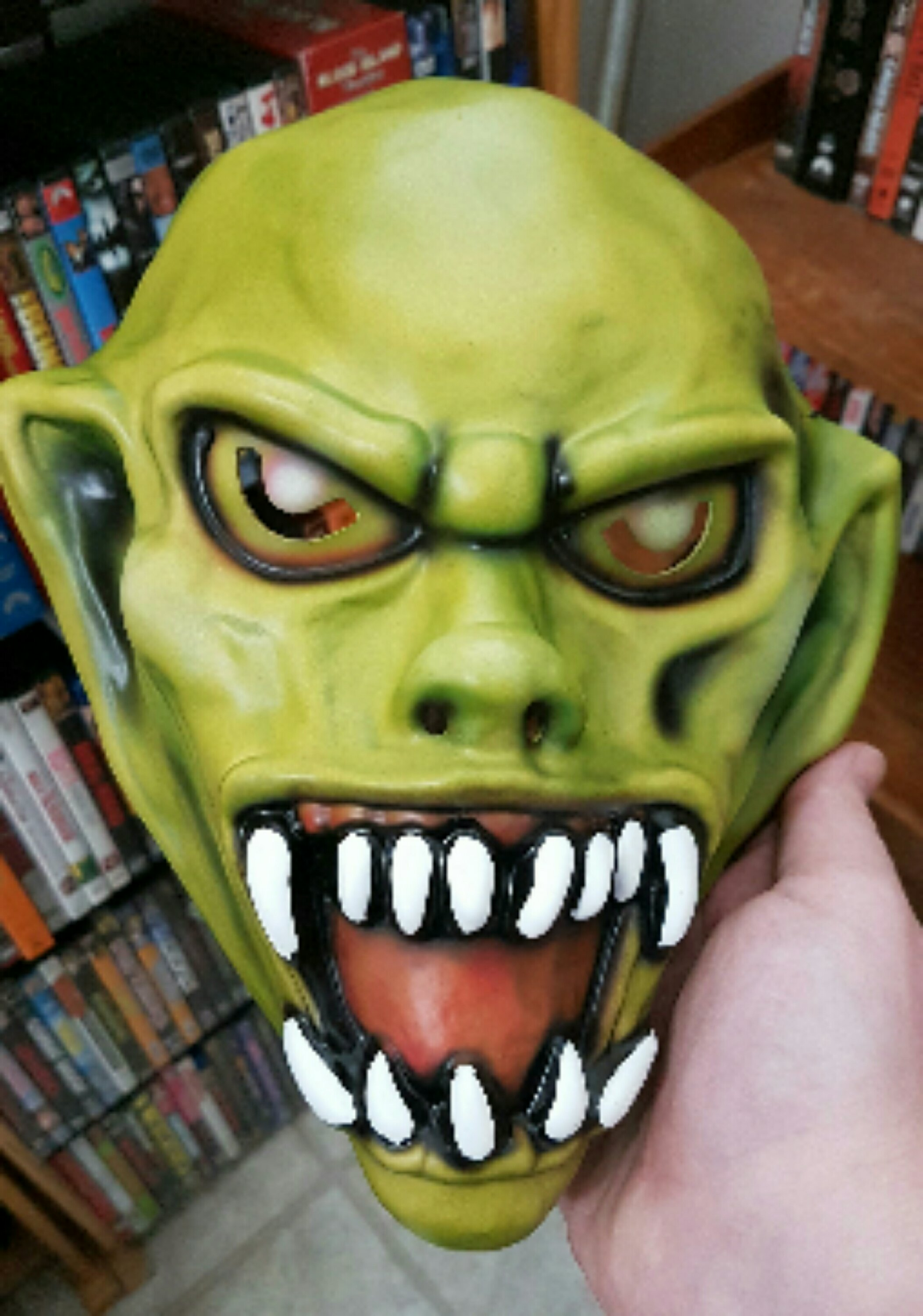 Haunted Mask Vacuform