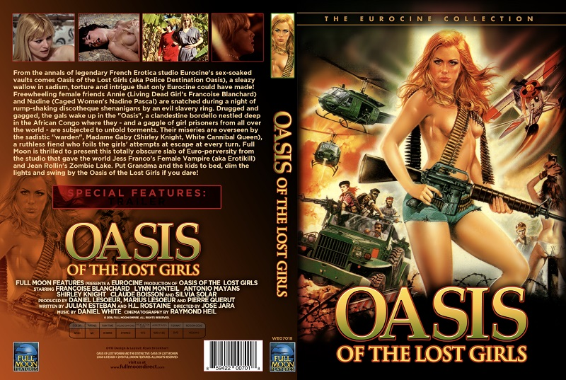 Oasis of the Lost Girls DVD Front Cover