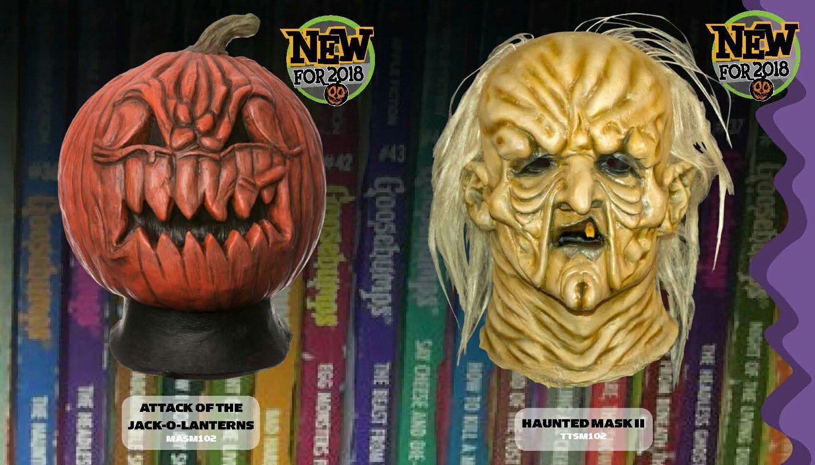 Jack O-Lantern & Haunted Mask II