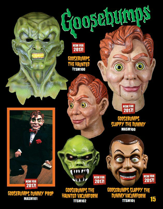 Goosebumps Catalog