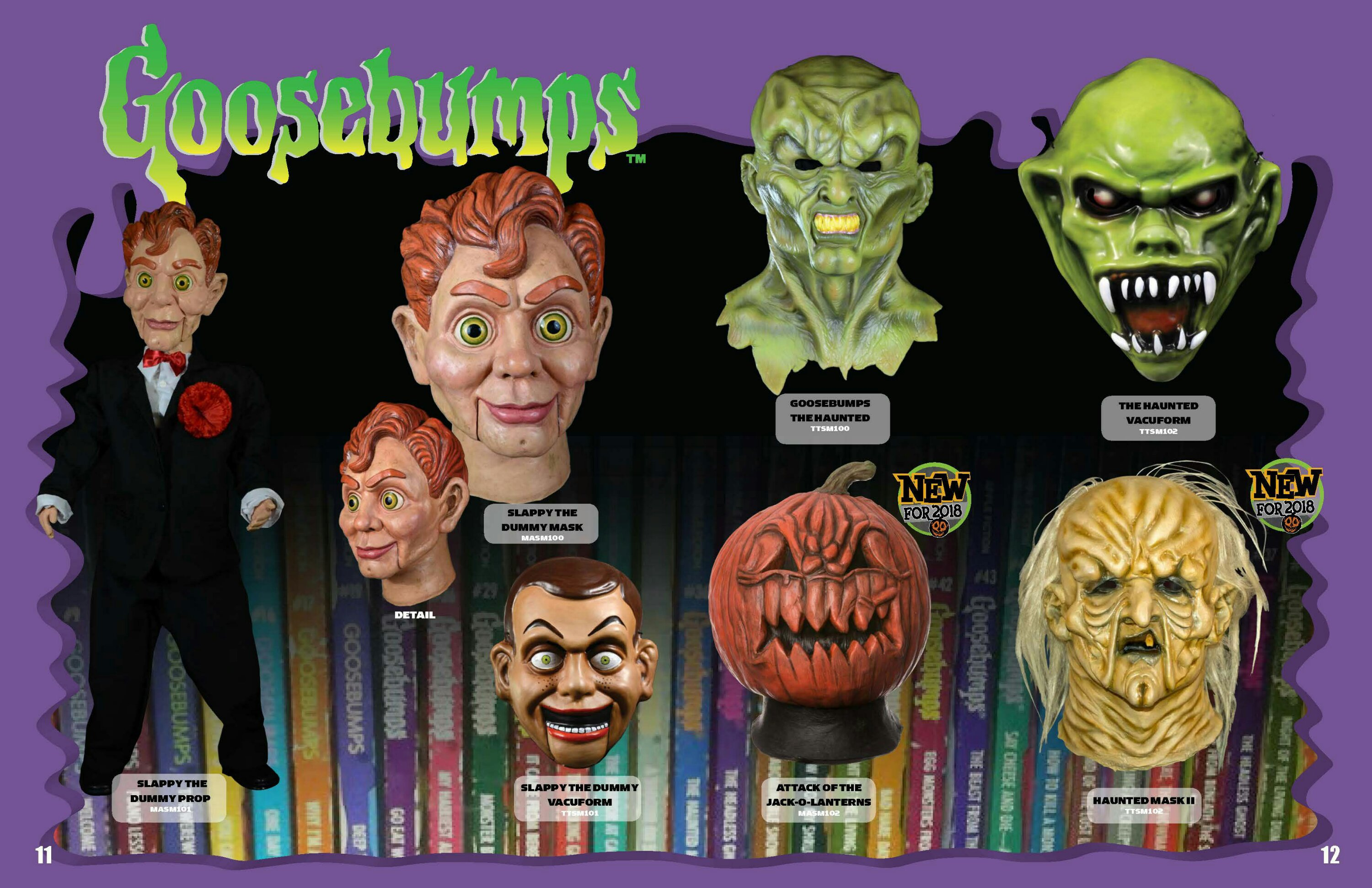 Goosebumps 2018 Catalog