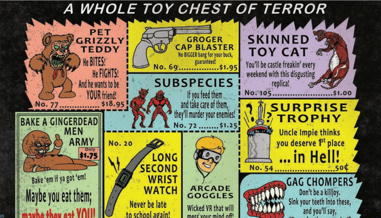 Toy Chest of Terror