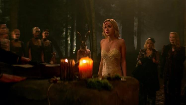Sabrina's Dark Baptism