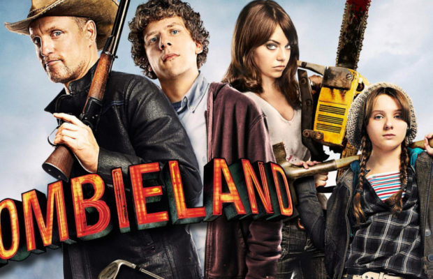 Zombieland 2009 Group Cast