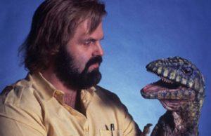 John Carl Buechler Carnosaur Puppet