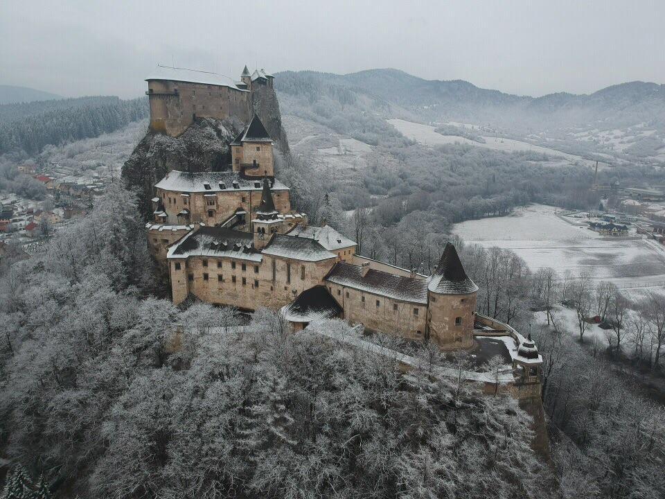 Orava Castle Exterior