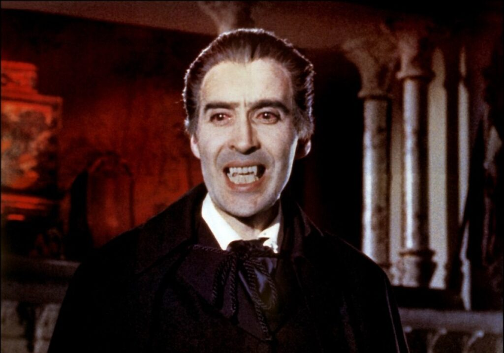 Dracula Christopher Lee